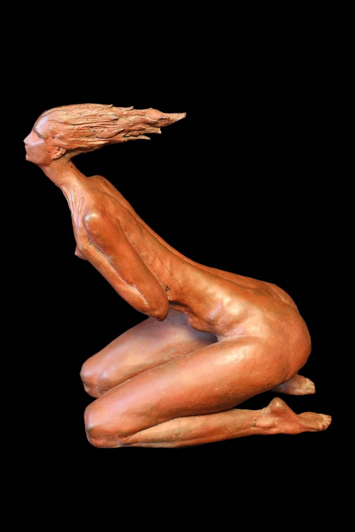 Aldo Falchi, 'Purificazione', 1981, bronzo 1-10, 19,5x27x12