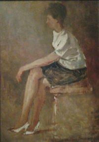 'Donna seduta'