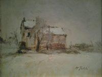 casa nella neve